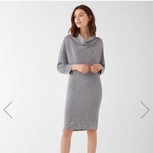 NWT Splendid Daphne Cowl Neck Sweater Dress